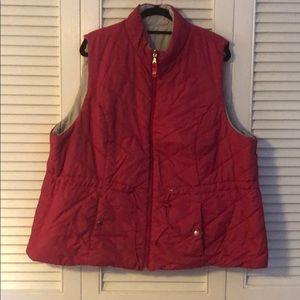 Lane Bryant Reversible Vest